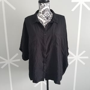 Plus Size 2X LulaRoe Amy Button Down Shirt